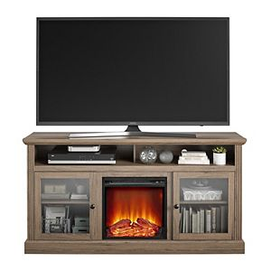 Ameriwood Home Chicago Fireplace TV Stand