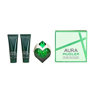 Thierry Mugler Aura Mugler Perfume, Body Lotion & Shower Gel Travel Set - Eau de Parfum