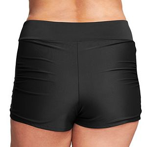 Plus Size Mazu Swim Thigh Minimizer Swim Boyshorts