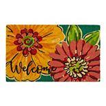 Mohawk® Home Floral Petal Play Coir Doormat