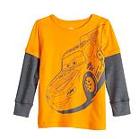 Disney / Pixar Cars Boys 4-12 Adaptive Skater Tee by Jumping Beans®