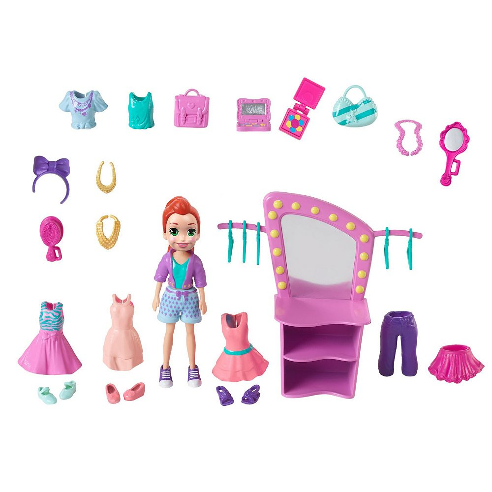 Polly Pocket Fashion Show Doll and Accessories Set