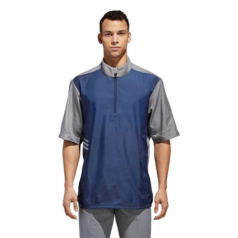 Men's adidas Essentials Golf Wind Jacket, Size: Medium, Blue