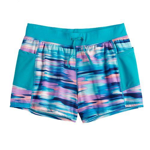 Girls 7-16 Tek Gear® Soft Woven Running Shorts