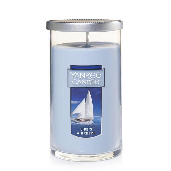 Yankee Candle Life's A Breeze 12-oz. Pillar Candle Jar