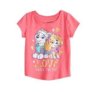 Toddler Girl Jumping Beans® Paw Patrol Skye & Everest Graphic Tee