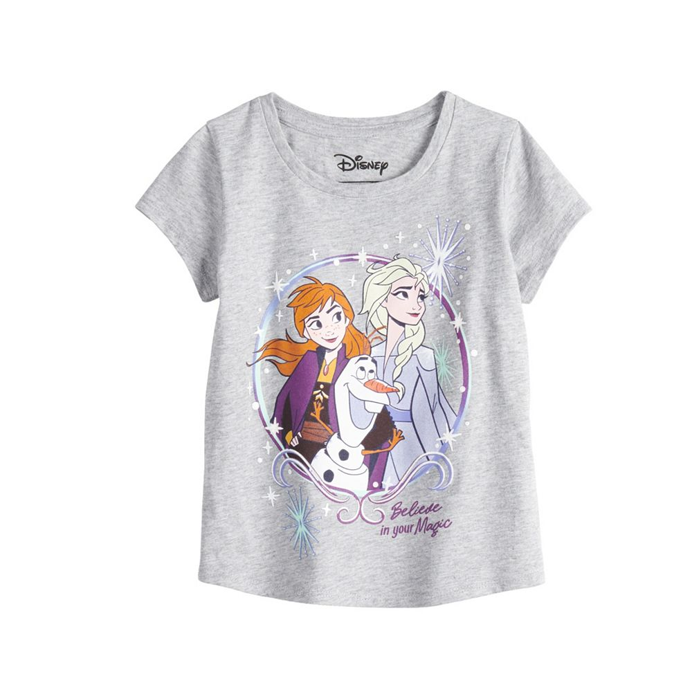 Disney's Frozen Elsa & Anna Toddler Girl Graphic Tee by Jumping Beans®