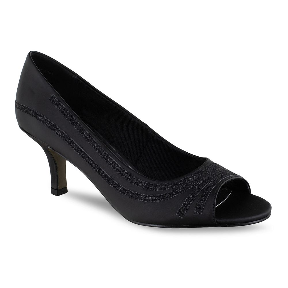 Easy Street Lady Women's Peep Toe Pumps