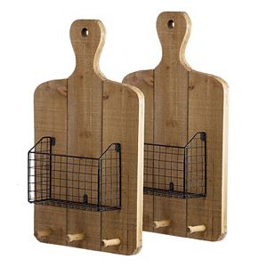 Ellery Basket Wall Decor 2-piece Set