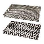Hanley Geometric Decorative Tray Table Decor