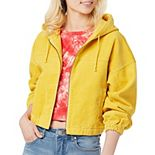 Juniors' Unionbay Corduroy Hooded Jacket