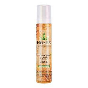 Hempz Fresh Fusions Citrine Crystal & Quartz Herbal Face, Body & Hair Mist