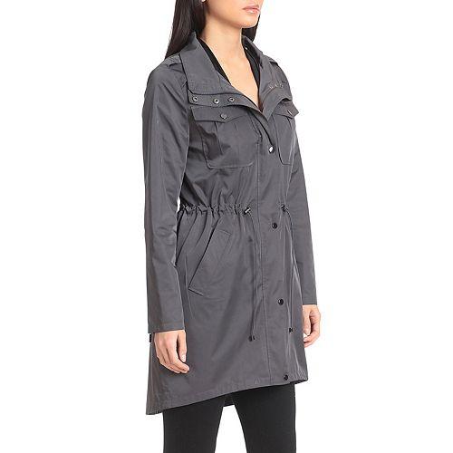 Women's Badgley Mischka Anorak Rain Jacket