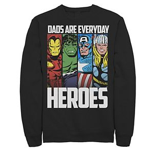 Men's Avengers Father's Day Everyday Heroes Fleece
