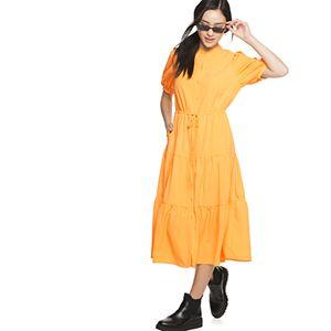 Women's POPSUGAR Tiered Shirt Dress