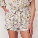 Women's LC Lauren Conrad Belted Paper Bag Shorts