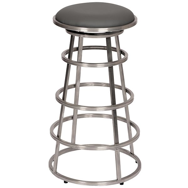 Armen Living Ringo Backless Bar Stool