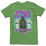 Men's Star Wars Vader and the Troopers 1977 Dark Side Rock Tee