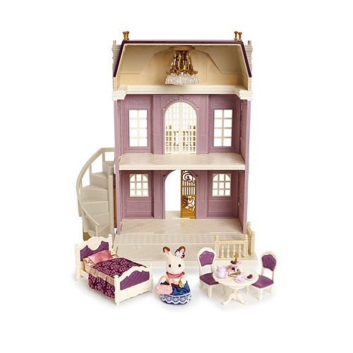 Calico Critters Comfy Living Room Play Set Multicolor