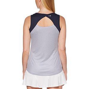 Women's Grand Slam Mini-Tennis Racquet Print Tank Top