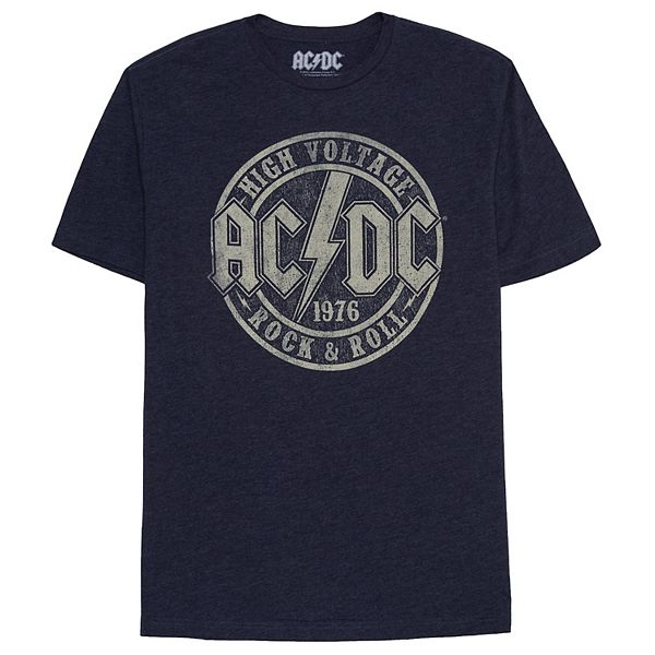 Big & Tall AC/DC High Voltage Stamp Band Tee