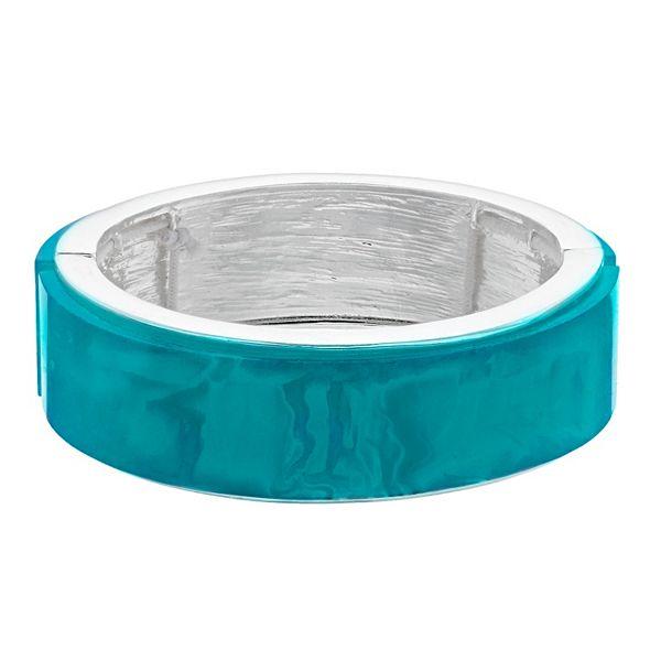 Nine West Teal Stretch Bracelet