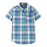 Boys 4-14 Carter's Button Front Shirt