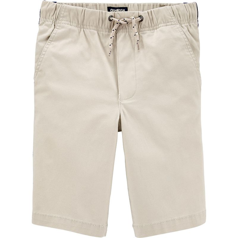 Boys 4-14 OshKosh B'gosh Side Stripe Pull-On Shorts, Boy's, Brown