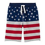 Boys 4-14 OshKosh B'gosh® American Flag Patriotic Shorts