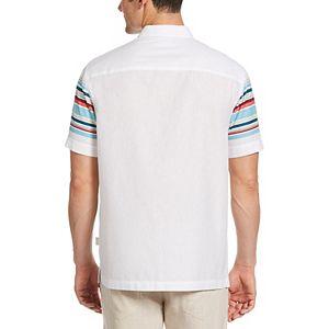 Men's Cubavera Horizontal Stripe Shirt