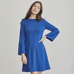 Women's Elizabeth and James Structured Mini Ponte Dress