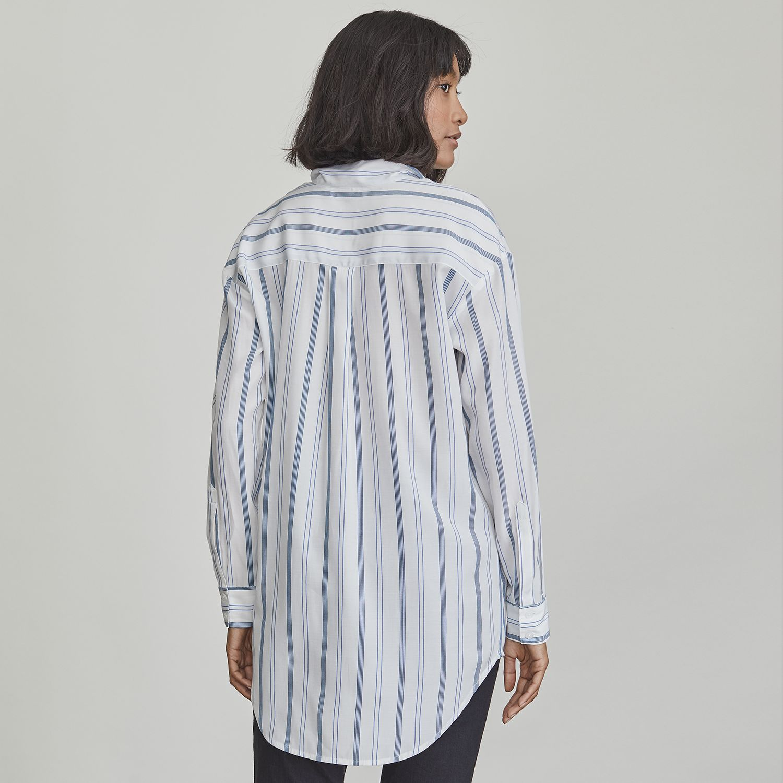 Women's Elizabeth and James Tie-Neck Button-Down Shirt