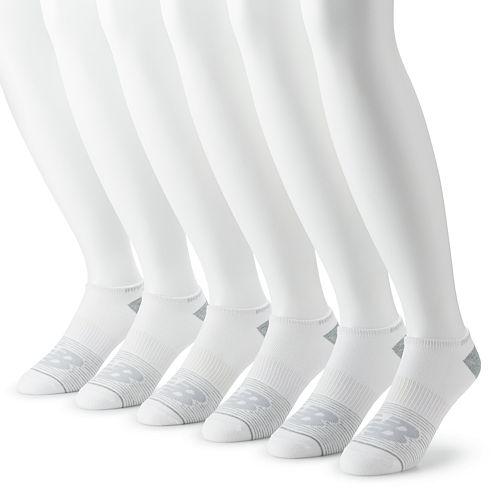 Men's New Balance® 6-pack Flat-Knit No-Show Socks