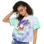 "Juniors' Mighty Fine ""Count Your Butterflies"" Skimmer Tee"