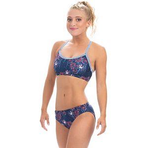 Women's Dolfin Uglies Print UPF-50 Two Piece Swimsuit