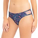 Women's Dolfin Uglies Revibe Floral Print Strappy Swim Bottoms