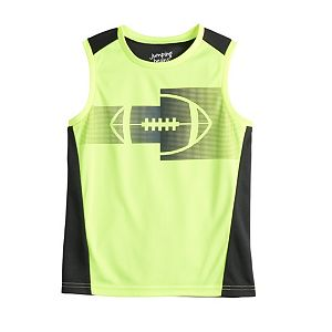 Boys 4-12 Jumping Beans® Pieced Active Muscle Top