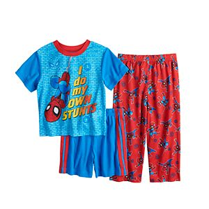 Toddler Boy Marvel Spider-Man 3 Piece Pajama Set