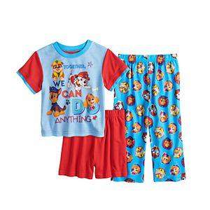 Toddler Boy Paw Patrol 3 Piece Pajama Set
