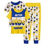 Toddler Boy Despicable Me Minions 4 Piece Pajama Set