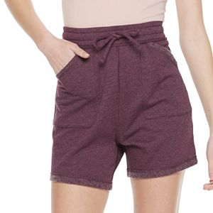 Juniors' SO® Adaptive French Terry Midi Shorts