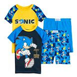 Boys 8-20 Sonic the Hedgehog Tops & Shorts Pajama Set