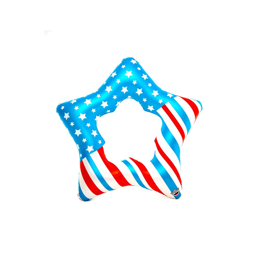 Big Mouth Inc Americana Star Float Pool Inflatable