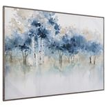 Fine Art Canvas Water's Edge I in Light Gray Frame