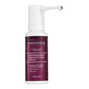Keranique Hair Regrowth Treatment for Women with Extended Spray Nozzle