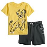 Disney's The Lion King Toddler Boy Simba Tee & Shorts Set by Jumping Beans®