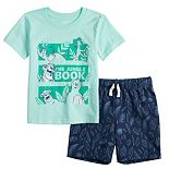 Disney's The Jungle Book Toddler Boy Tee & Patterned Shorts Set by Jumping Beans®