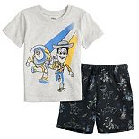 Disney / Pixar Toy Story Toddler Boy Buzz & Woody Tee & Shorts Set by Jumping Beans®