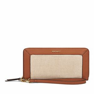 Nine West Astoria Zip Around Wallet