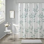 Madison Park Vera Burnout Printed Shower Curtain